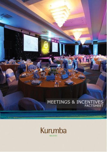 Meetings and Events factsheet - Kurumba Maldives