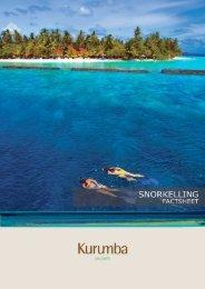 Snorkelling Factsheet - Kurumba Maldives