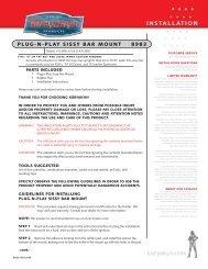 PLUG-N-PLAY SISSY BAR MOUNT 8983 - Kuryakyn USA