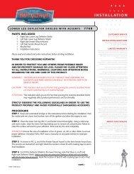 Installation Instructions - Kuryakyn USA