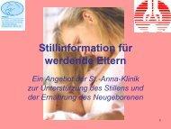 Stillinformationsabend für werdende Eltern - Praxis Dr. med ...