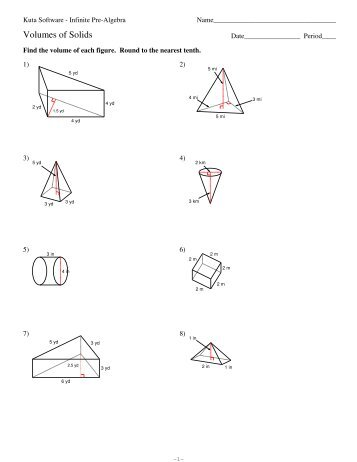 Area Of Composite Figures Worksheet Kuta Software Proga Info