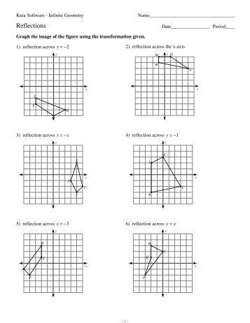 Scatter Plot Worksheet Kuta: Rotations of Shapes   Kuta Software,
