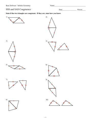 All Worksheets » Geometry Sss Sas Asa Aas Worksheets - Printable ...