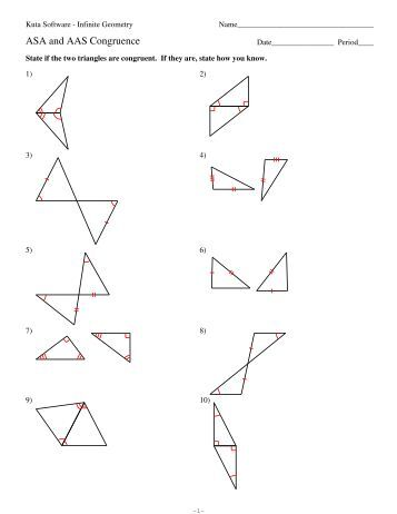 worksheets geometry worksheet congruent triangles answers opossumsoft worksheets and printables. Black Bedroom Furniture Sets. Home Design Ideas