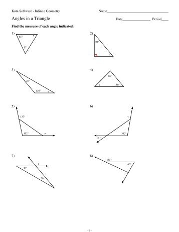 Angle Addition Postulate Worksheet Kuta - polygon angle sum ...