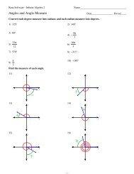 2 Angle Pair Relationships Kuta Software
