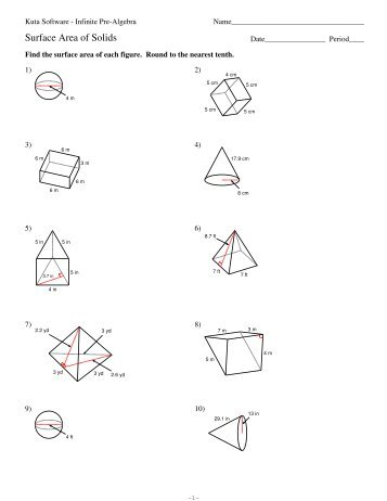 6 Area Of Regular Polygons Pdf Kuta Software