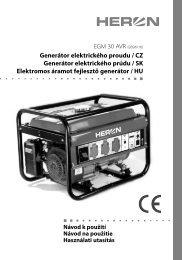 manuál (PDF) - EPROFI.SK