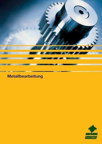 Metallbearbeitung - Carl Bechem GmbH
