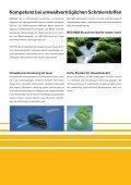 Umweltverträgliche Schmier- und Verfahrensstoffe - Carl Bechem ... - Seite 3