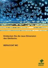Entdecken Sie die neue Dimension des Gleitlacks. BERUCOAT MC