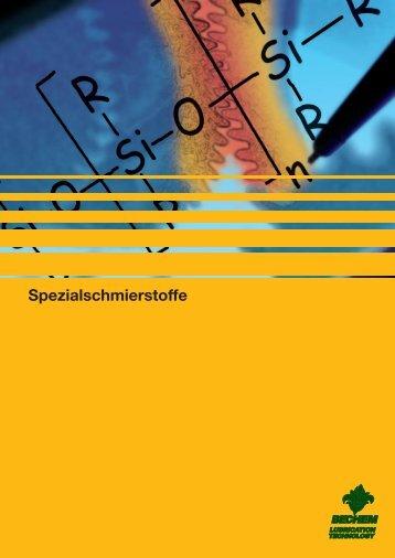 Spezialschmierstoffe - Carl Bechem GmbH