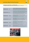 BERUFORM Produkte für die spanlose Blechumformung Lubricants ... - Seite 3