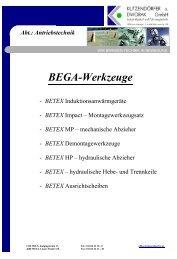 Download BETEX Gesamtkatalog