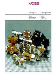 Download Katalog Steck-System 230 - VOSS
