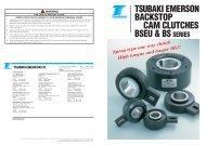 BSEU & BS Series Cam Clutch English - Tsubaki Europe