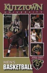 2006-07 Men's Basketball Media Guide - Kutztown University