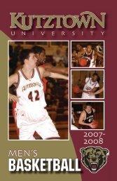 2007-08 Men's Basketball Media Guide - Kutztown University