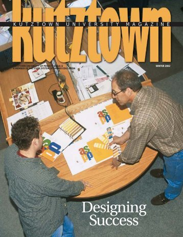KU Magazine WINTER 02 - Kutztown University