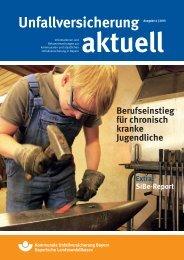 Unfallversicherung aktuell - Kommunale Unfallversicherung Bayern ...