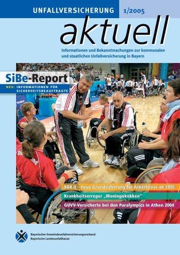 SiBe-Report - Kommunale Unfallversicherung Bayern