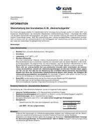 Überarbeitung des Grundsatzes - Kommunale Unfallversicherung ...