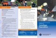 Freiwilligen Feuerwehren - Kommunale Unfallversicherung Bayern