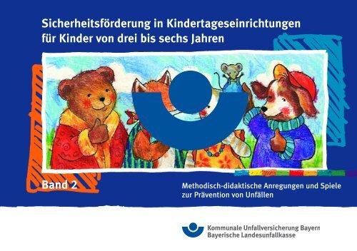GUV-X 99933 Sicherheitsförderung in Kitas für Kinder von drei bis ...