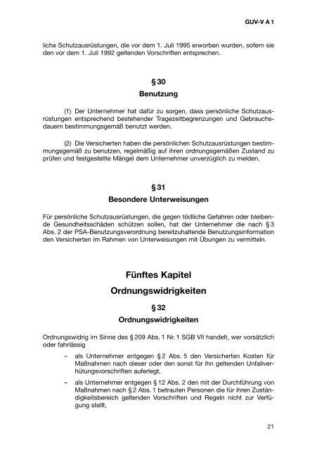 Grundsätze der Prävention - Kommunale Unfallversicherung Bayern