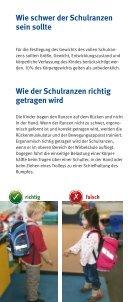 Schulranzen kinderleicht! (DGUV Information 8010) - Seite 5