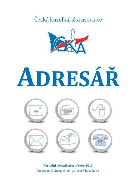 adresáři ČKA - Česká kuželkářská asociace