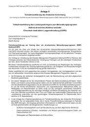 DMP Asthma/COPD Anl. 5 - Kassenärztliche Vereinigung Thüringen