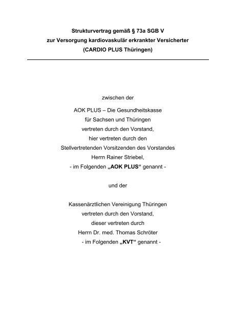 Vertrag227 KB - Kassenärztliche Vereinigung Thüringen
