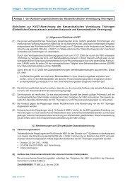 Anlage 1: Richtlinien zur KVDT-Abrechnung der KVT210 KB