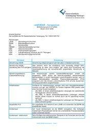 LANR/BSNR Kompendium - Kassenärztliche Vereinigung Thüringen