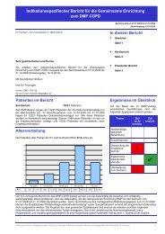 DMP-COPD GE - Kassenärztliche Vereinigung Thüringen