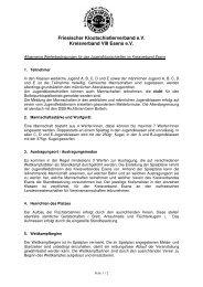 Bedingungen für das Jugendklootschießen - Kreisverband VIII ...