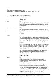 KVA Org.reglement - beim Verband KVA Thurgau