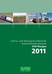 Jahres - beim Verband KVA Thurgau