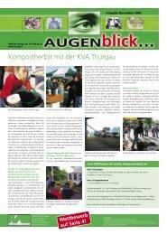 Ausgabe November 2004 - beim Verband KVA Thurgau