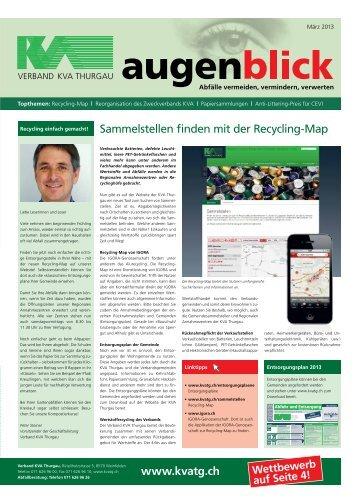 Ausgabe März 2013 /PDF - beim Verband KVA Thurgau