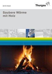 Saubere Wärme mit Holz - Amt für Umwelt