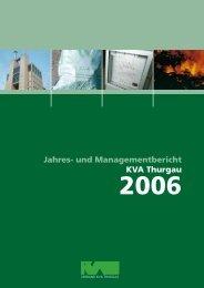 Ausgabe 2006 - beim Verband KVA Thurgau