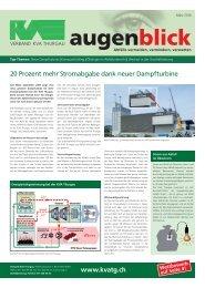 Ausgabe März 2010 - beim Verband KVA Thurgau