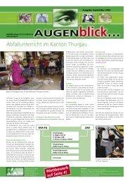 Ausgabe September 2003 - beim Verband KVA Thurgau