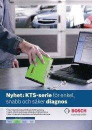 Nyhet: KTS-serie för enkel, snabb och säker diagnos