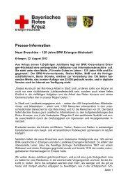 Presse-Information - BRK-Kreisverband Erlangen Höchstadt ...