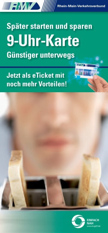 9-Uhr-Karte - Kreisverkehrsgesellschaft Offenbach mbH