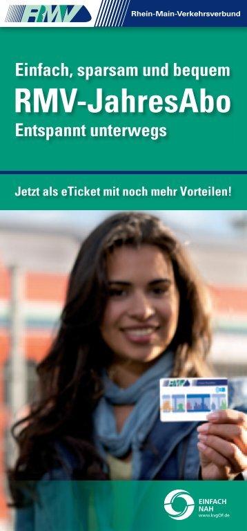 RMV-JahresAbo - Kreisverkehrsgesellschaft Offenbach mbH